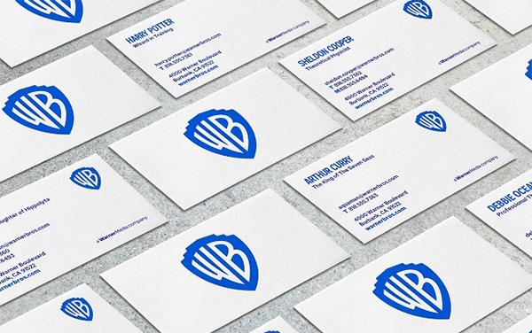 Warner Brothers New Logo Brand