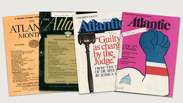 Retro Atlantic Magazine Covers
