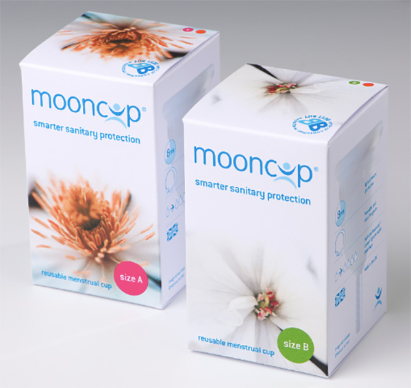 Mooncup on a Box