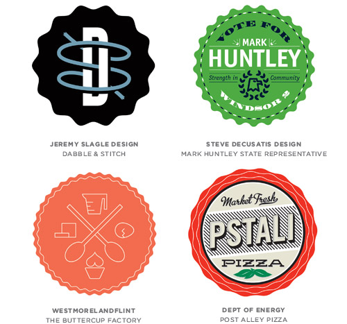 Badges trend logo examples