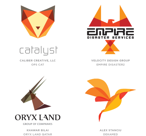 Trans Menagerie trend logo examples
