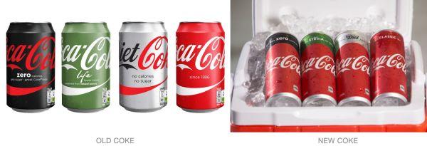 Old vs. New Coke