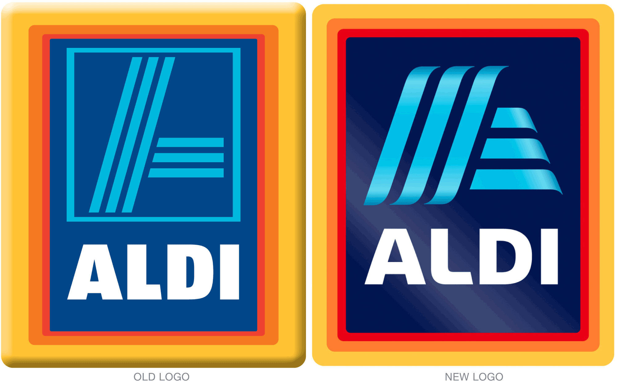 Old vs. New Aldi