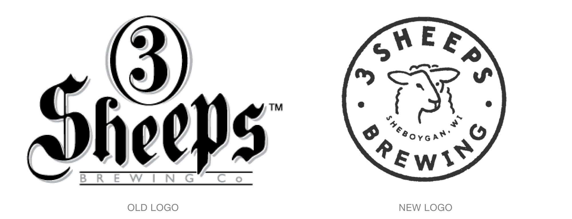 Old vs. New Logo