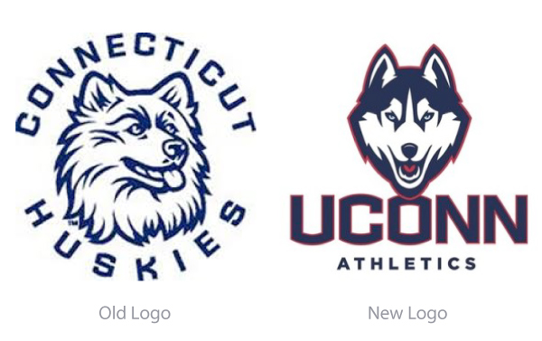 New Uconn Logo Wallpaper a Slimmer Husky Will Appear on