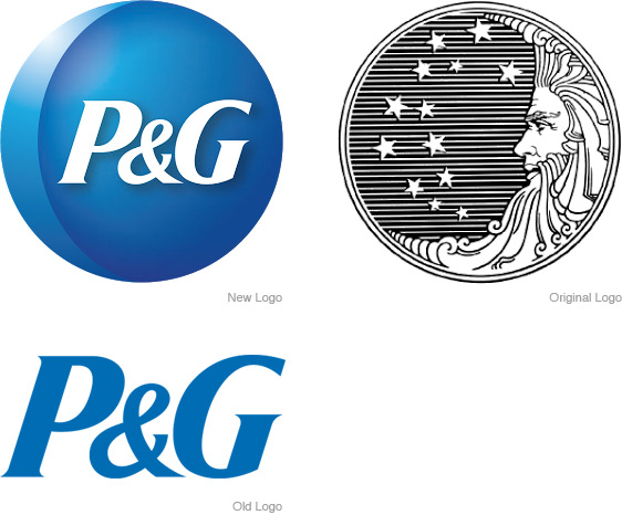 P&G and the Moon on LogoLounge.com