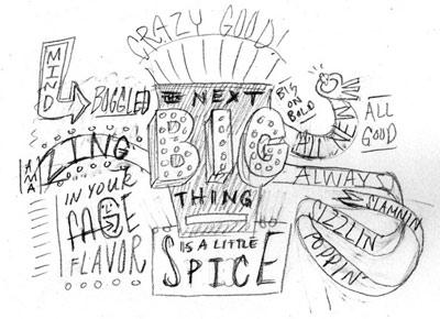 Hand-Drawn Type Makes Its Way to McDonalds | Articles | LogoLounge