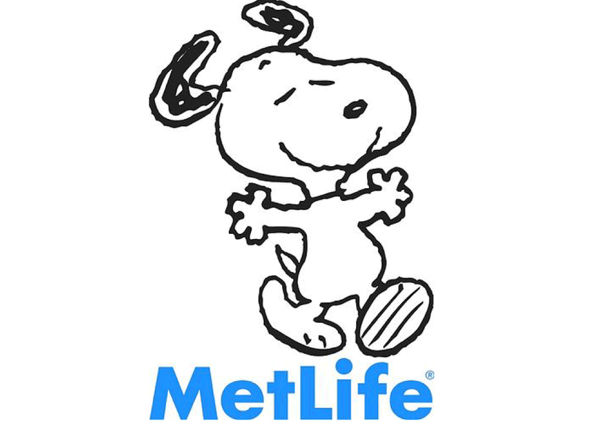 Met Life with Snoopy