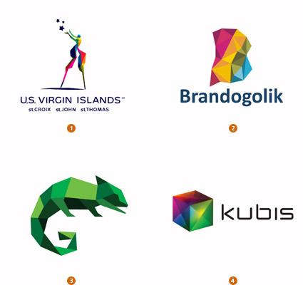 art logotrends cubist Logolounge发布2010年logo设计趋势