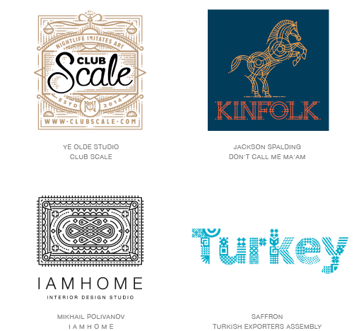 Detail logo trend examples