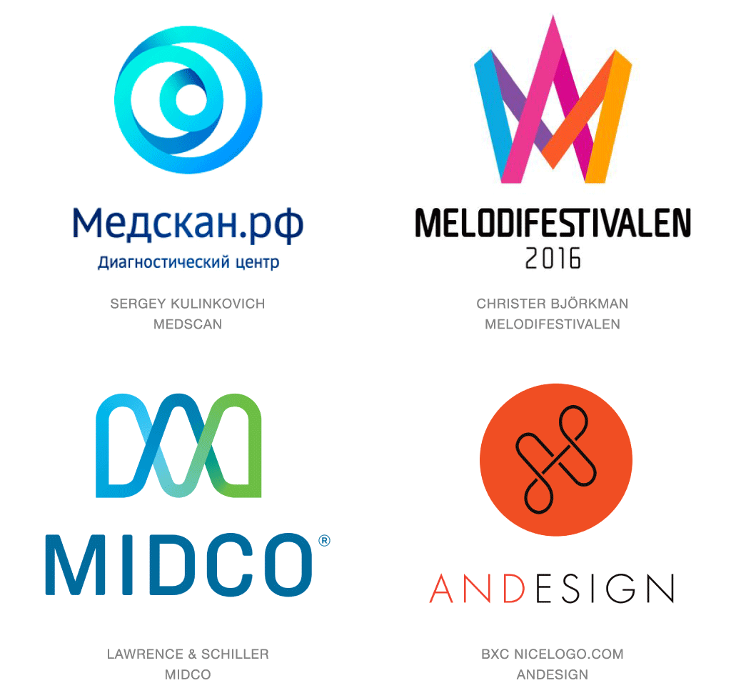 2016 logo trends articles logolounge for Design company