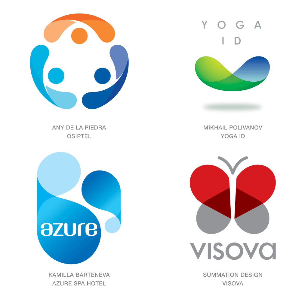 colorful company business abstract logo design - Download ...