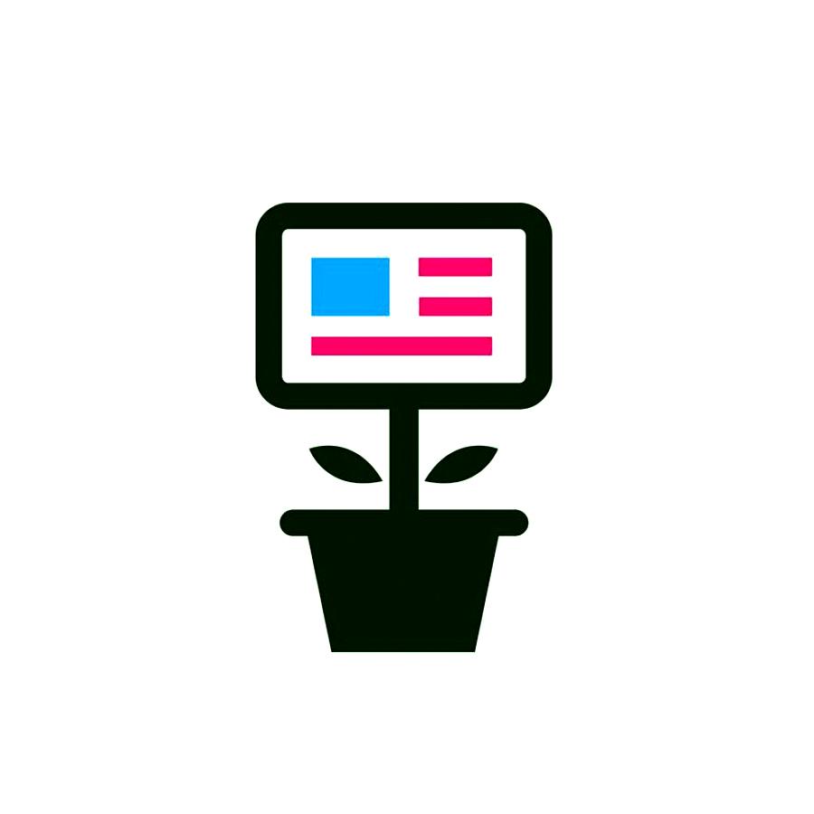Smart Kudzu logo design by logo designer Down With Design
