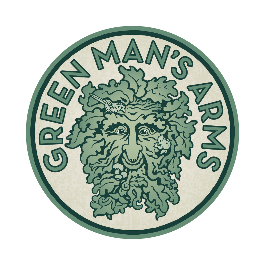 Green Mans Arms Logo