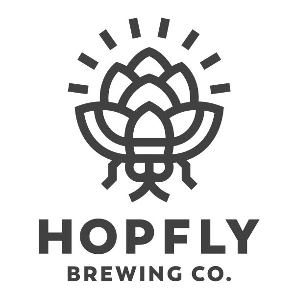 HopFly Brewing Co. logo design by logo designer Sunday Lounge