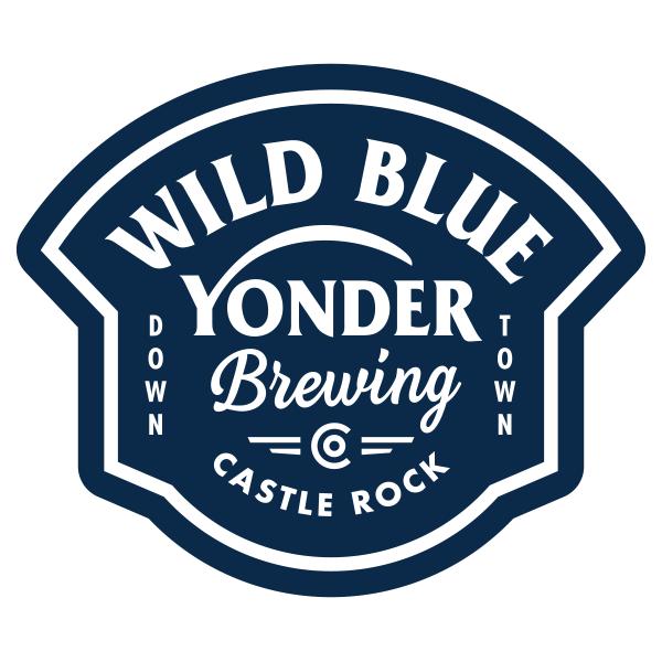 Wild Blue Yonder Brewing logo design by logo designer Sunday Lounge