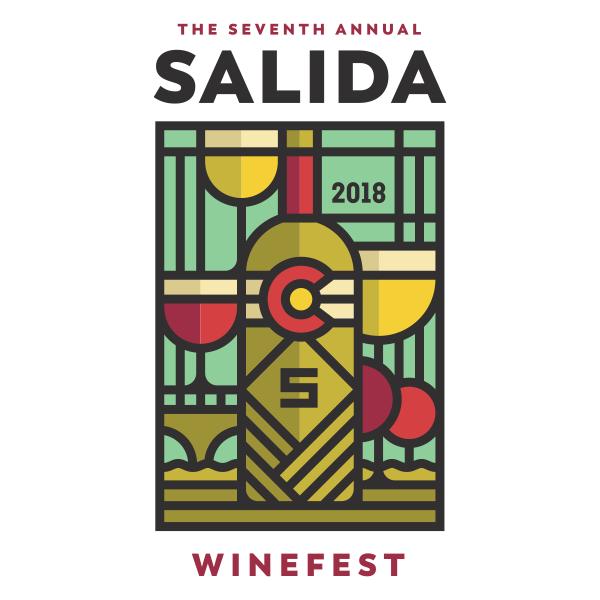 Salida Winefest 2018 logo design by logo designer Sunday Lounge