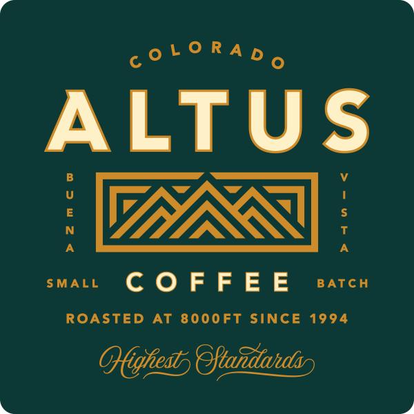 Altus Coffee logo design by logo designer Sunday Lounge
