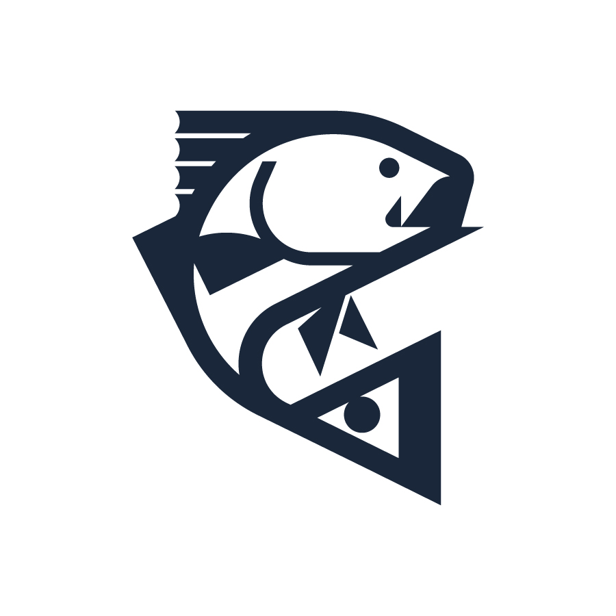 Redfish logo design by logo designer J Fletcher Design for your inspiration and for the worlds largest logo competition