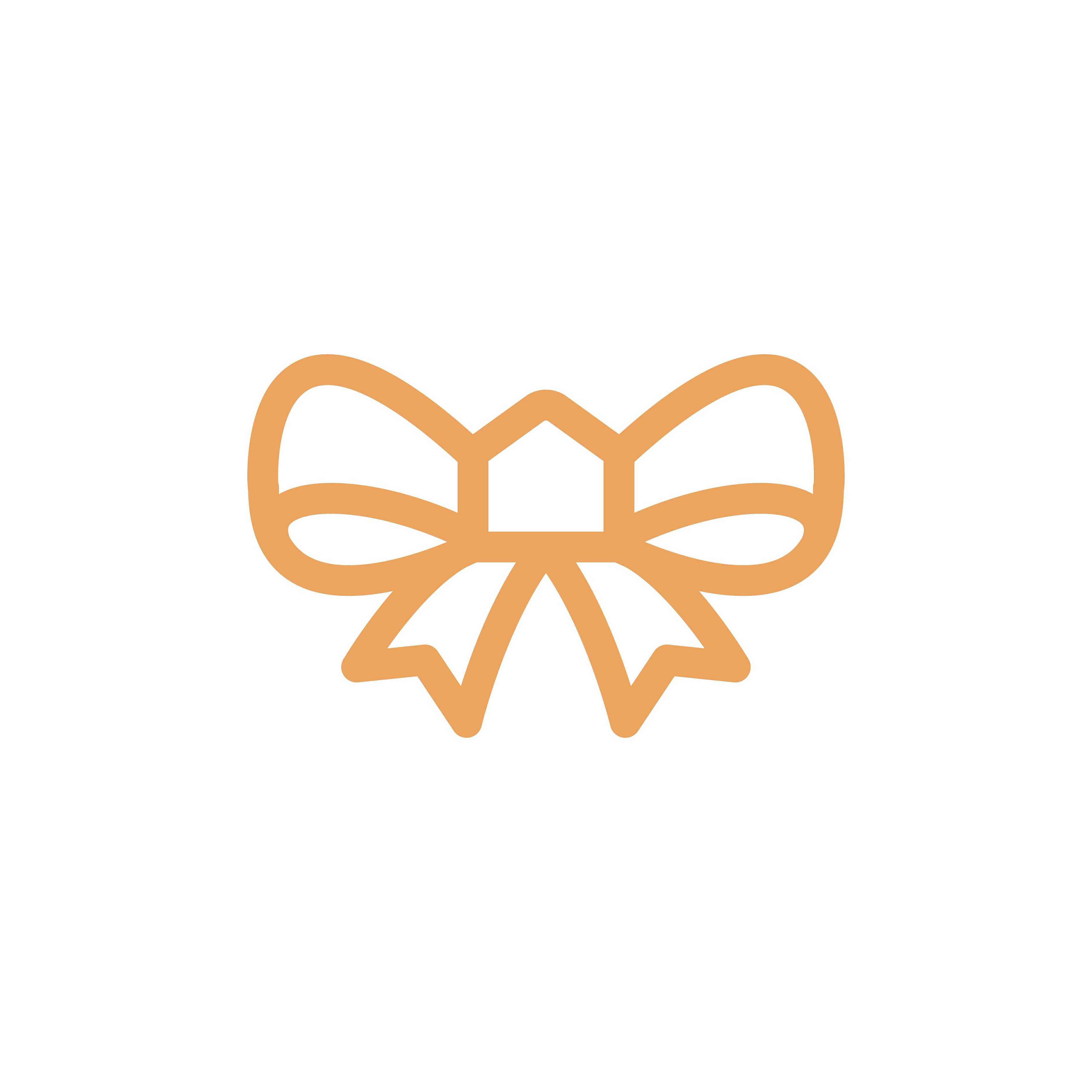 Ribbon Home logo design by logo designer brandclay