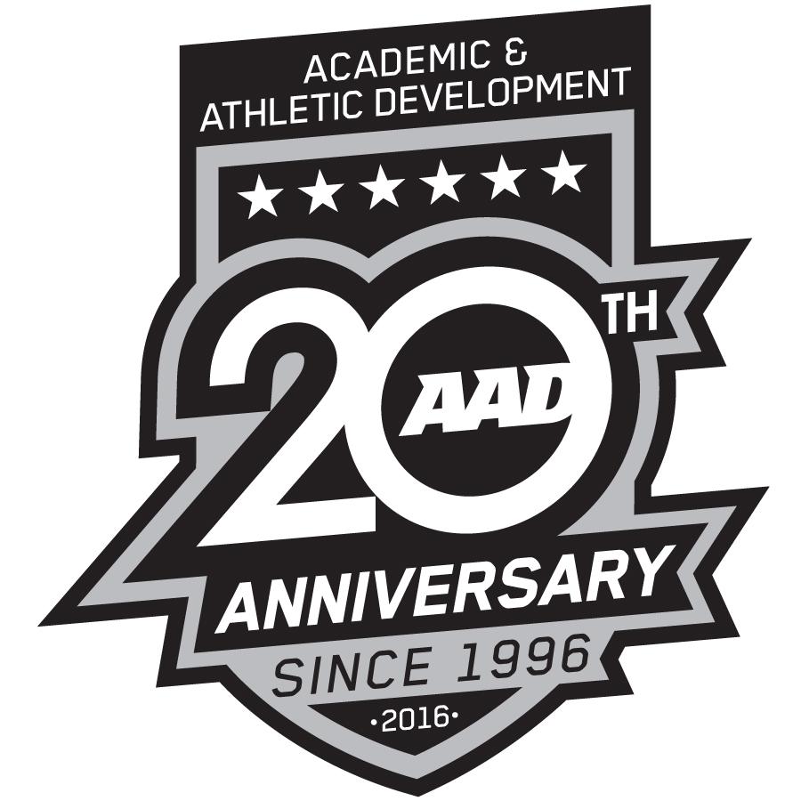 AAD 20th Aniversary logo design by logo designer artslinger
