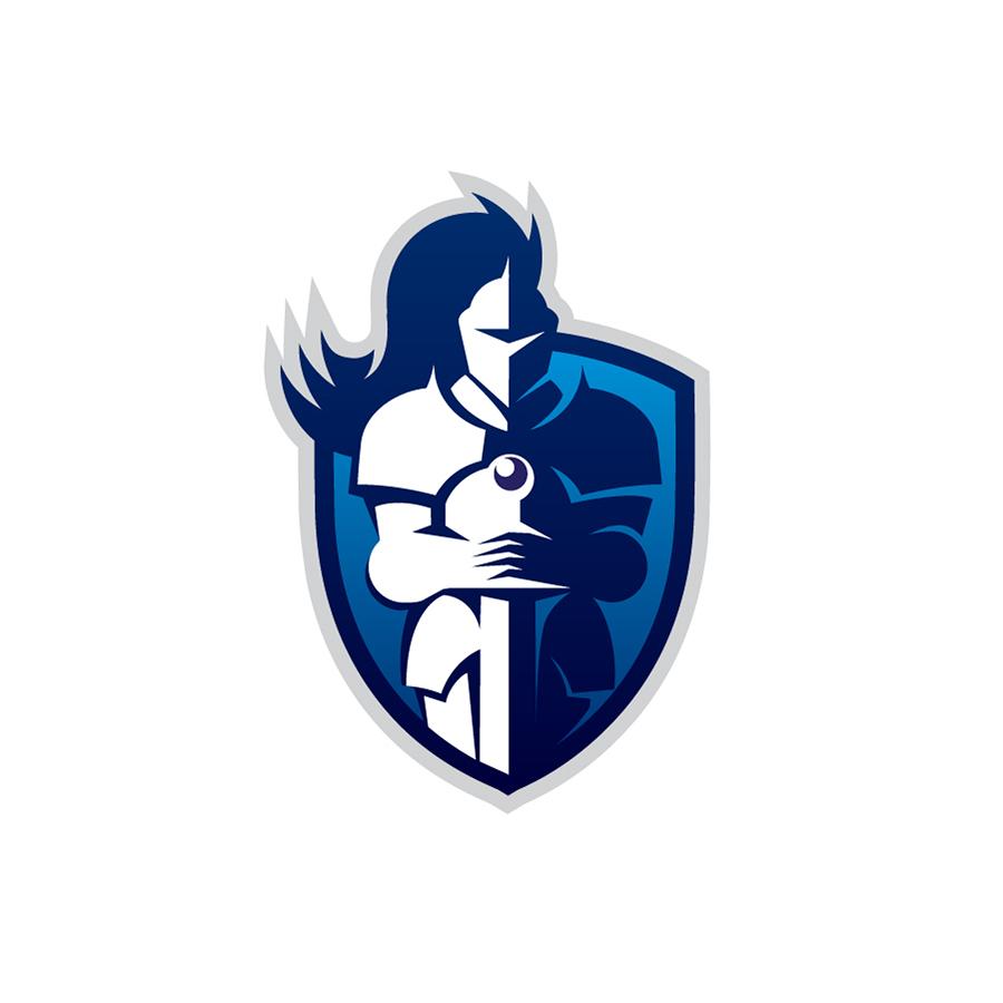 MukaPeter_Logo_BlueKnight_Antivirus logo design by logo designer Muka Péter Dániel