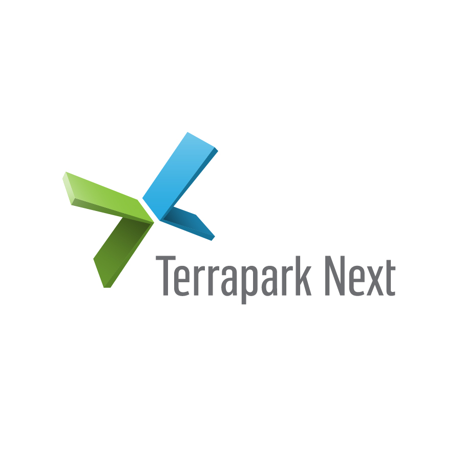 MukaPeter_Logo_TerraparkNext logo design by logo designer Muka Péter Dániel