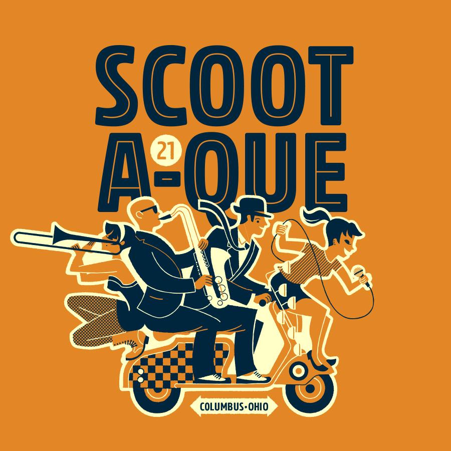 Scoot-A-Que 21