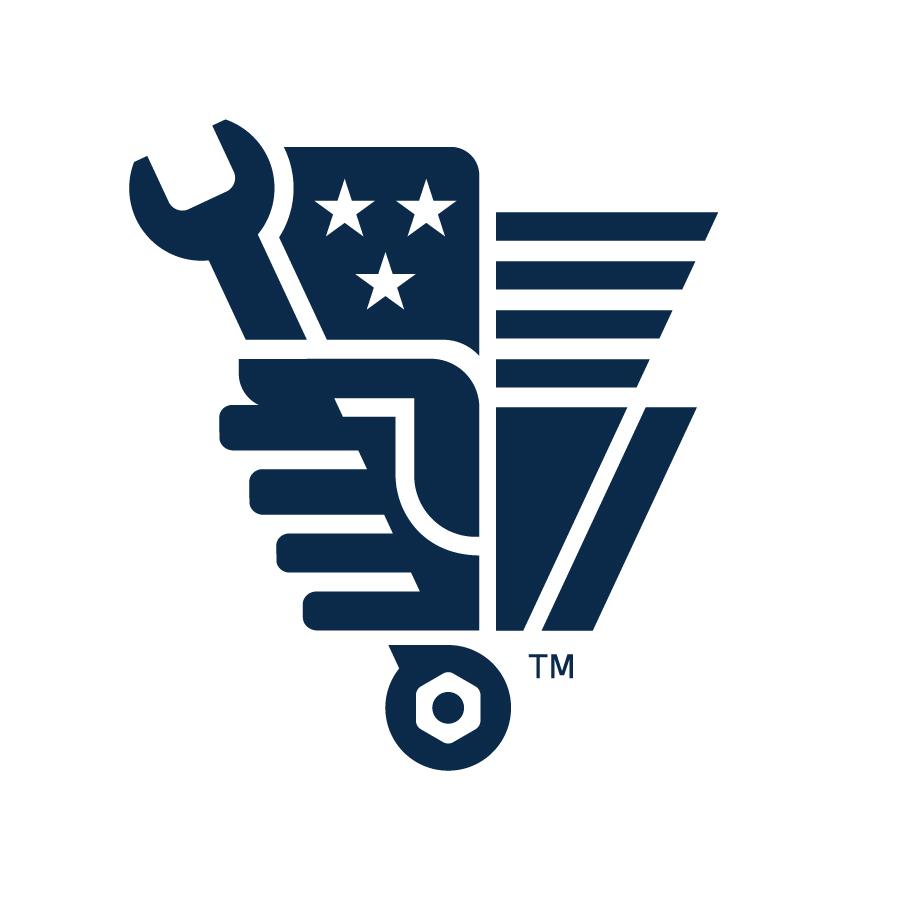 Made in USA Tools Logo Mark