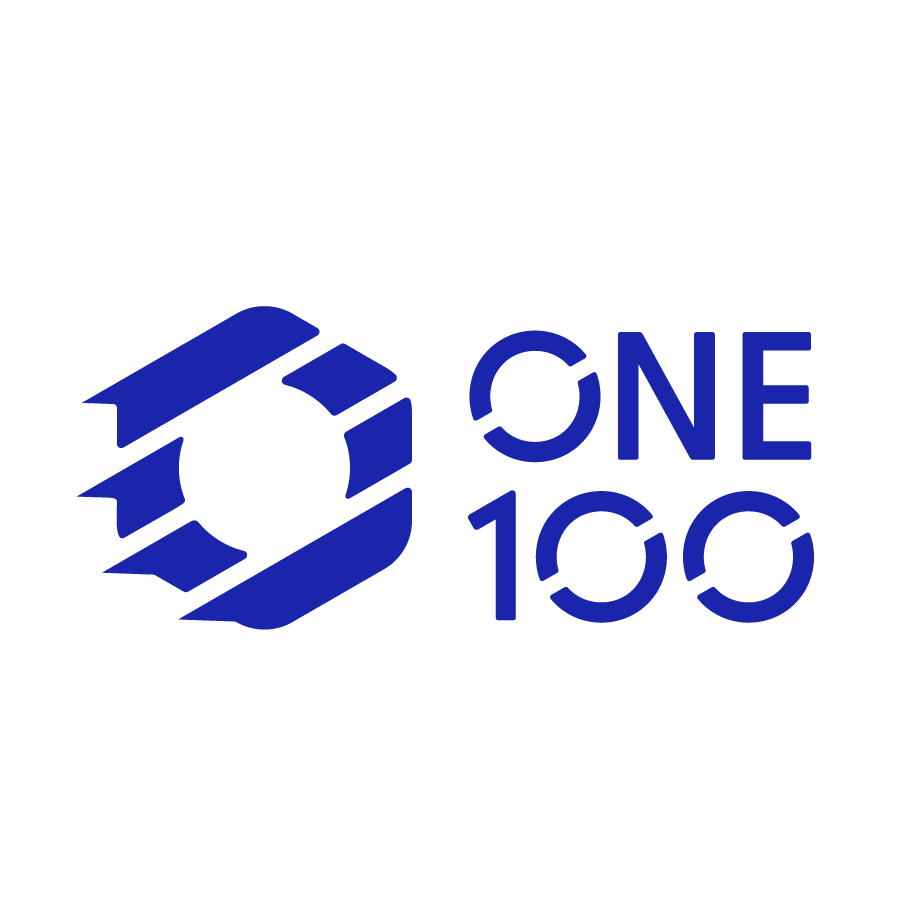ONE 100 Logo