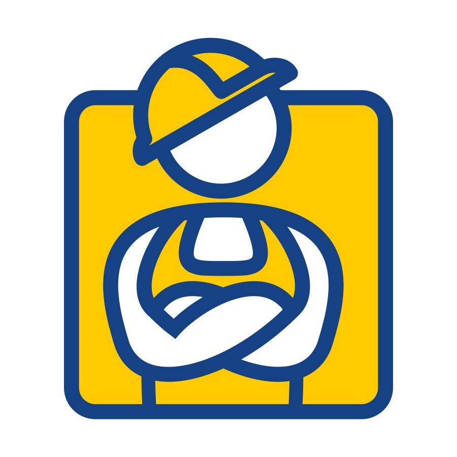 Master Stroy logo design by logo designer Yury Akulin | Logodiver