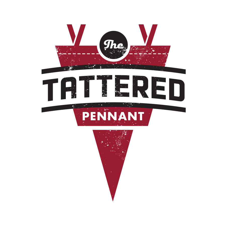 The Tattered Pennant logo design by logo designer Hubbell Design Works for your inspiration and for the worlds largest logo competition