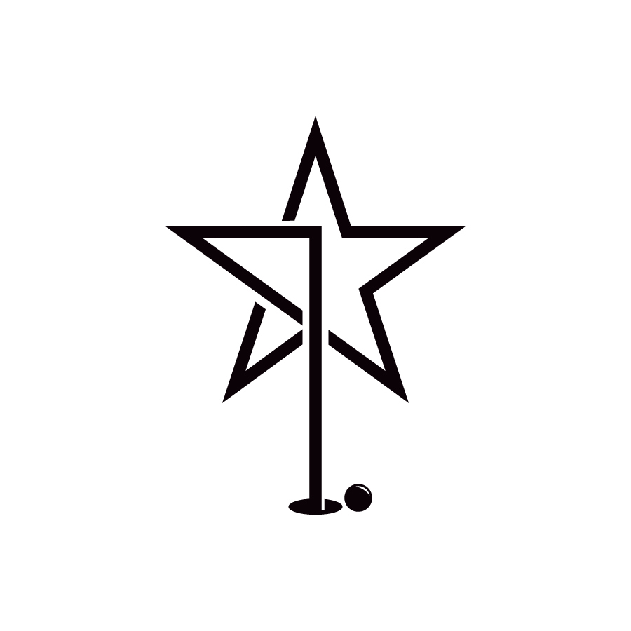 StarGolf logo design by logo designer Emilio Correa for your inspiration and for the worlds largest logo competition