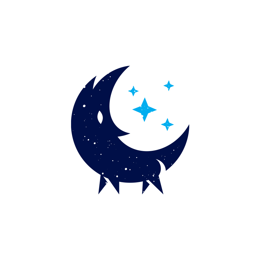 wolf moon  logo design by logo designer RedEffect for your inspiration and for the worlds largest logo competition