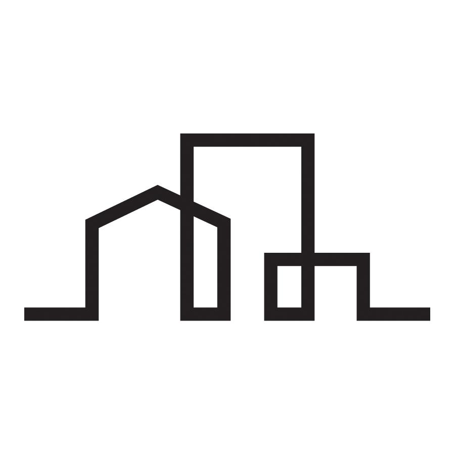 TK_RF_white logo design by logo designer Kongshavn Design