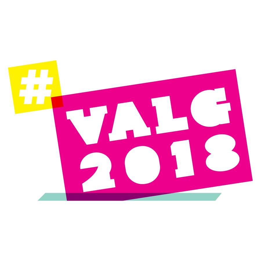 TK_#valg2018 logo design by logo designer Kongshavn Design