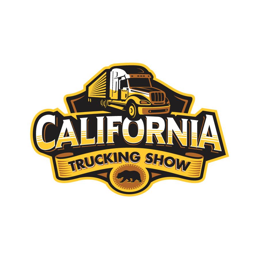 California Trucking Show logo design by logo designer Oronoz Brandesign