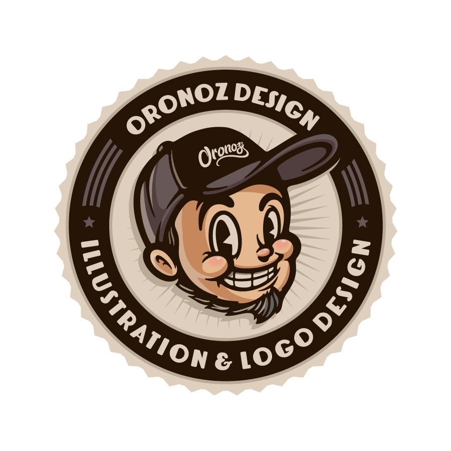 Oronoz Retro Badge