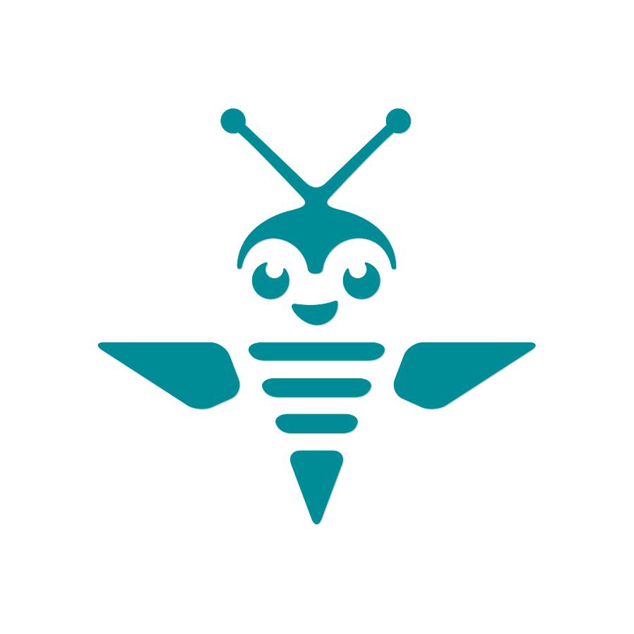 bee logo design by logo designer barockhaus