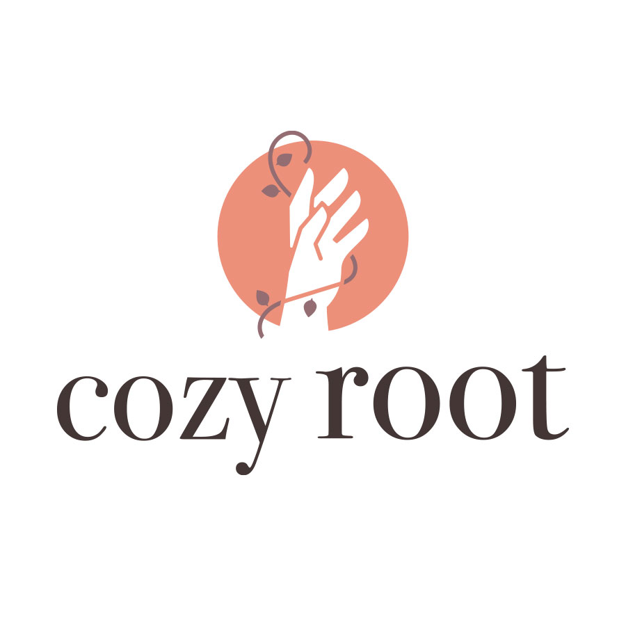 Cozy Root logo design by logo designer Rikky Moller Design for your inspiration and for the worlds largest logo competition