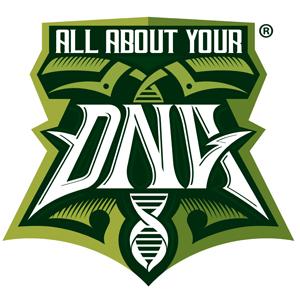 All About Your DNA logo design by logo designer Lethal