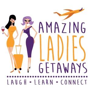 Amazing Ladies Getaways logo design by logo designer Lethal