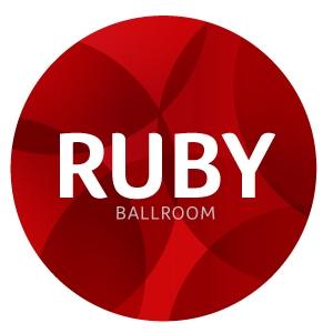 Ruby Ballroom logo design by logo designer BRANDiT.