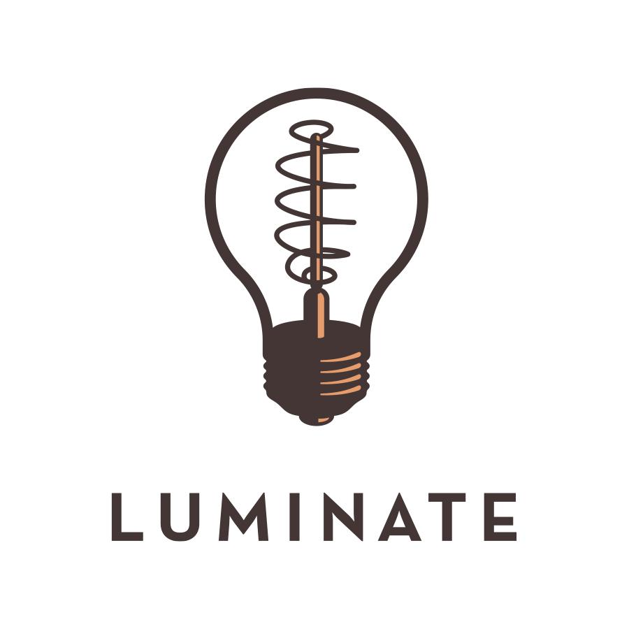 Luminate Logotype logo design by logo designer Fournir