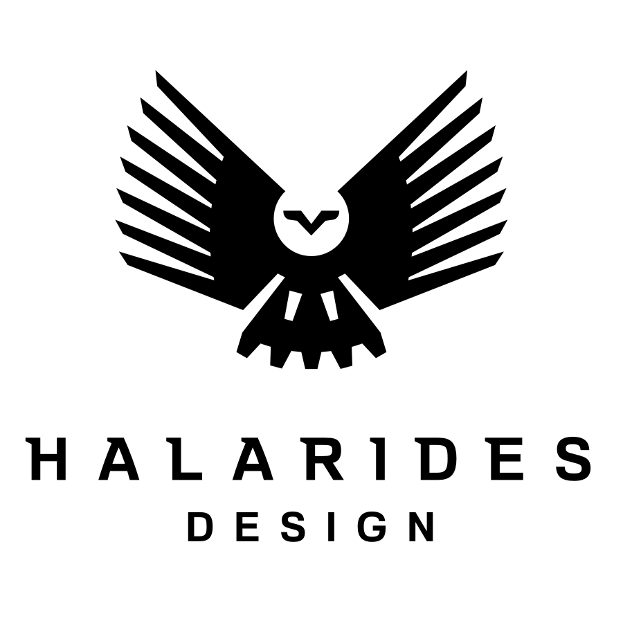 Halarides Design Lockup