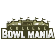 ESPN College Bowl Mania logo design by logo designer Walk Design for your inspiration and for the worlds largest logo competition