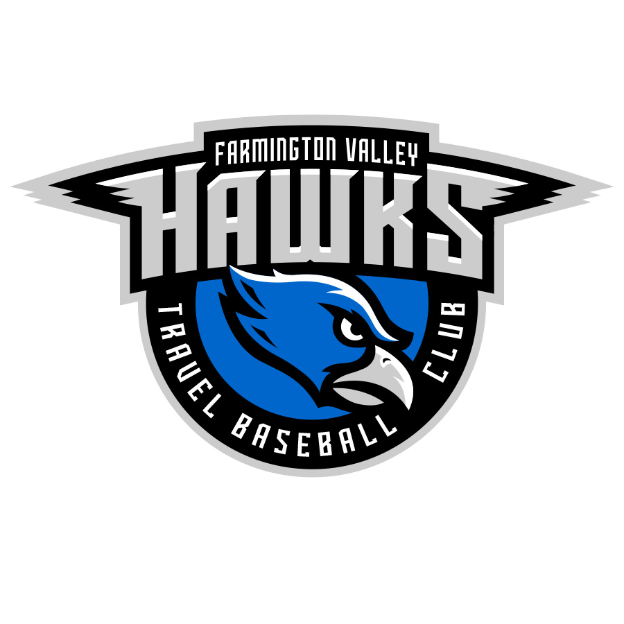 Farmington Valley Hawks logo design by logo designer Walk Design for your inspiration and for the worlds largest logo competition