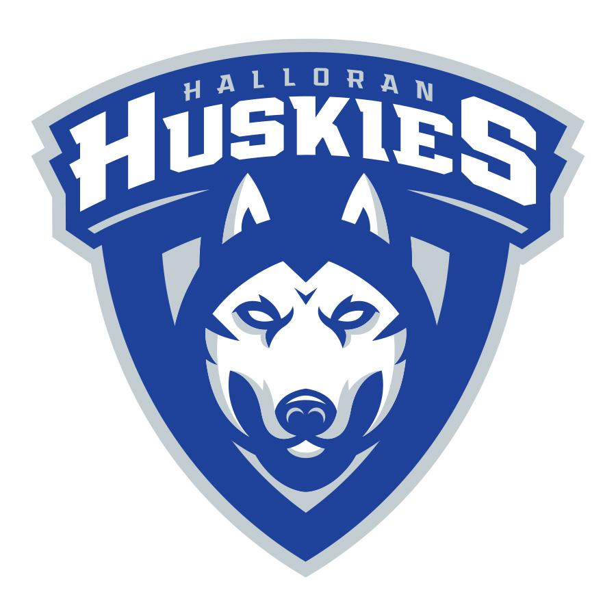 Halloran Huskies Logo