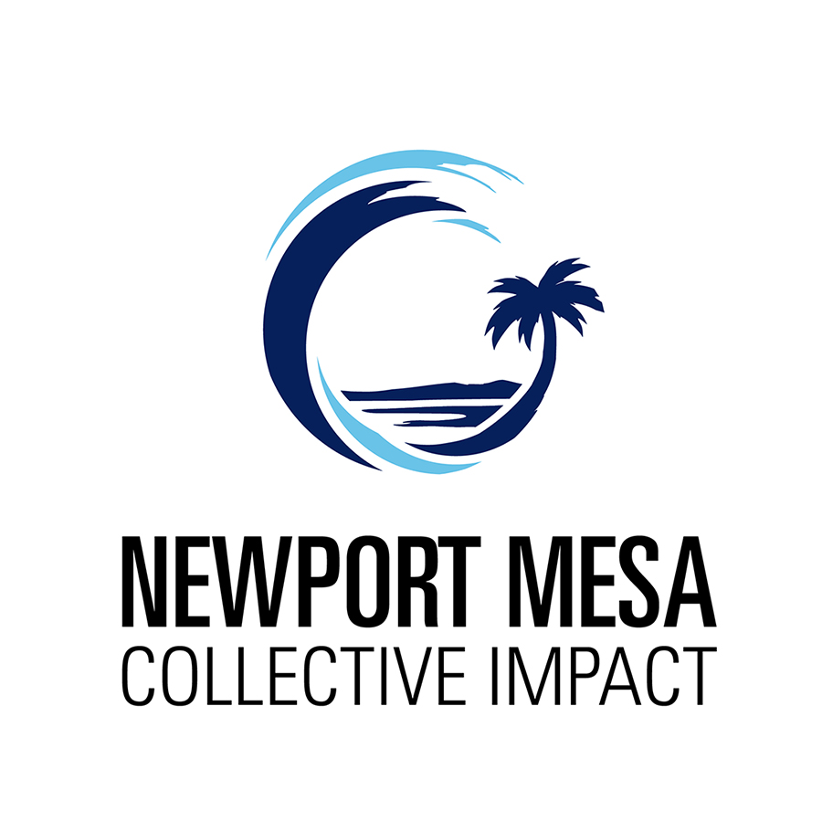 Newport Mesa Collective Impact logo design by logo designer Kneadle, Inc. for your inspiration and for the worlds largest logo competition
