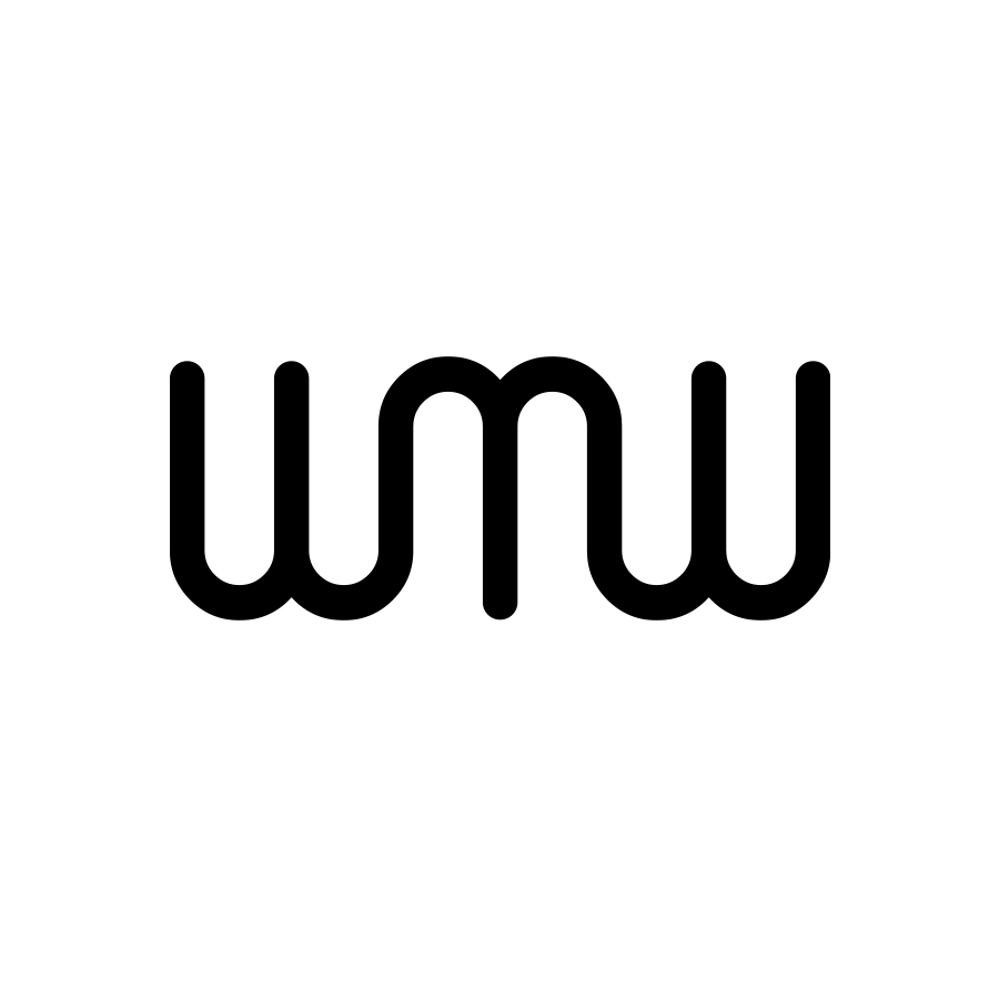 WMW logo design by logo designer Kneadle, Inc. for your inspiration and for the worlds largest logo competition